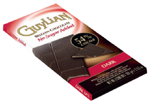 Guylian No Sugar Added Belgian Dark Chocolate 100g